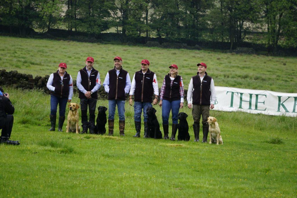 """Chatsworth – jetzt ein Bild mit allen """"Helden"""""""
